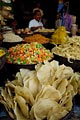 Pastas and more for sale at a Jodhpur market.