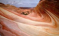 Amazing lines and colors of eroded sandstone fill the Paria Wilderness in southern Utah.