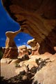 Unusual and curious sandstone formations fill the Devils Garden in the Grand Staircase - Escalante National Monument.